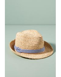 Tracy Watts | Hitch Corded Fedora | Lyst