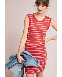 Velvet By Graham & Spencer   Caffari Striped Dress   Lyst