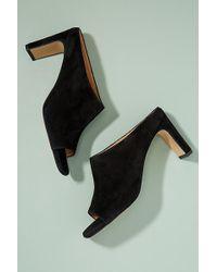 Anthropologie - Square Toe Mule Heels - Lyst