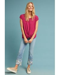 Sunday In Brooklyn - Schumann Knotted Top - Lyst