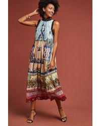 b25f9cc43e9f Anthropologie - Salome Printed Maxi Dress - Lyst