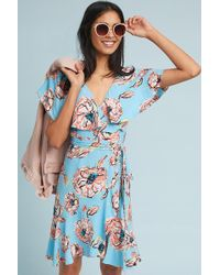 Plenty by Tracy Reese - Cherry Blossom Wrap Dress - Lyst