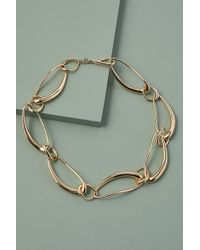 Anthropologie Trish Chunky-chain Necklace