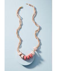 Anthropologie - Glorianne Ceramic Necklace - Lyst