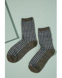 Becksöndergaard - Dean Striped Socks - Lyst