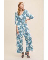 Anthropologie - Kachel Rainie Printed Jumpsuit - Lyst