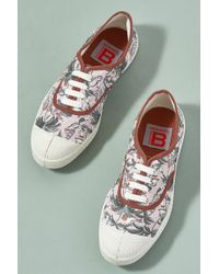 Bensimon - Lena Floral-print Trainers - Lyst