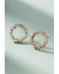 Serefina - Wreath Post Earrings - Lyst