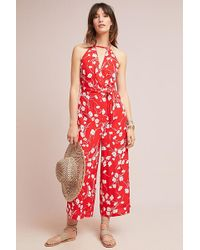 Maeve - Andros Printed Jumpsuit - Lyst