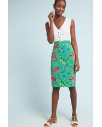 Plenty by Tracy Reese | Patricia Lace Pencil Skirt | Lyst