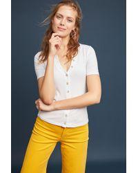 Maeve - Short-sleeved Cardigan - Lyst