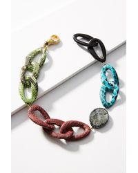 Katerina Psoma - Python Link Collar Necklace - Lyst