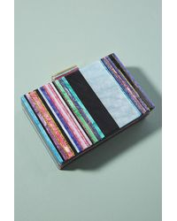 Anthropologie - Striped Lucite Clutch - Lyst