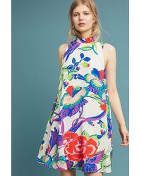 Maeve - Ria Silk Swing Dress - Lyst