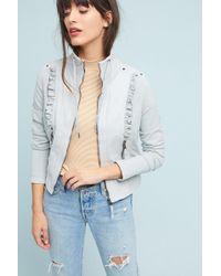 Marrakech | Pearl Ruffled Jacket | Lyst