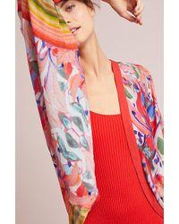 Bl-nk - Eriksen Dolman Sleeve Cropped Kimono - Lyst