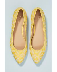 3fc049abf178 Anthropologie - Lovely In Lace Ballet Flats - Lyst