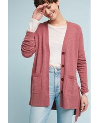 Anthropologie - Lace Up Cardigan - Lyst