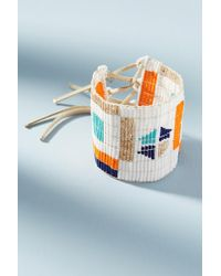 Sidai Designs - Multicolored Geo Cuff Bracelet - Lyst