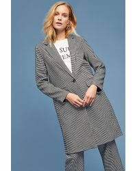 SELECTED - Houndstooth-checked Blazer - Lyst