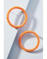 Mishky Petite Hula Hoop Post Earrings Vog3zwRIuD