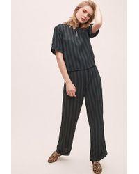 SELECTED - Florenta Striped Jumpsuit - Lyst