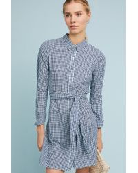 Sunday In Brooklyn - Belted Gingham Shirtdress - Lyst