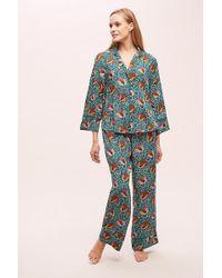 Anthropologie - Paloma Printed Sleep Trousers - Lyst