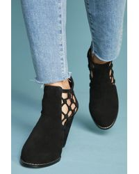 Joe's Jeans - Joe's Jeans Knotted Cutout Booties - Lyst