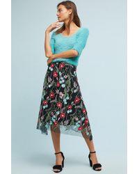 Eva Franco - Poppy Embroidered Skirt - Lyst