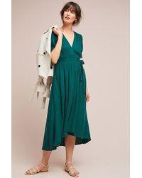Maeve - Breanna Wrap Dress - Lyst