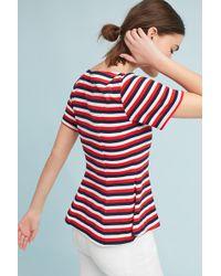 Eva Franco - Nautical Striped Top - Lyst