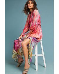 Bl-nk - Watercolor Maxi Dress - Lyst