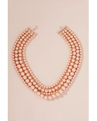 Anthropologie | Anette Multi-layer Bead Necklace | Lyst