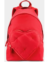 Anya Hindmarch - Chubby Heart Backpack - Lyst