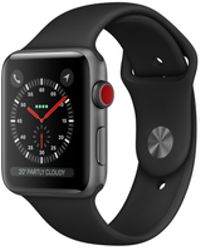Apple - Watch Series 3 Gps 42mm Aluminium Case Space Grey With Black Sport Band - Lyst