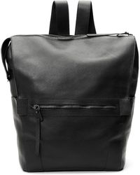 9b3d820982 Timberland Tuckerman Leather Backpack in Black for Men - Lyst