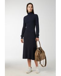 ARKET - Organic Merino High-neck Dress - Lyst