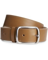ARKET - Flat Leather Belt - Lyst