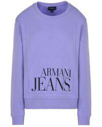 Armani Jeans - Sweatshirt - Lyst
