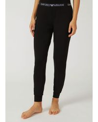 Emporio Armani - Lounge Trousers - Lyst