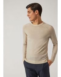Emporio Armani - Knitted Top - Lyst
