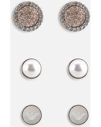 Emporio Armani - Earring - Lyst