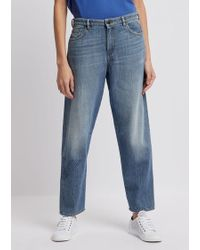 Emporio Armani - Denim Cotton Jeans - Lyst