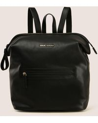 Armani Exchange - Slouchy Zip-top Backpack - Lyst