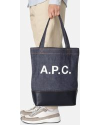 A.P.C. - Cabas Axel Tote Bag - Lyst
