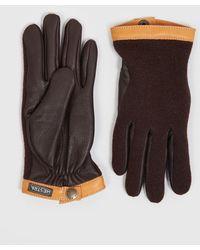 Hestra - Tricot Deerskin Gloves (wool/leather) - Lyst