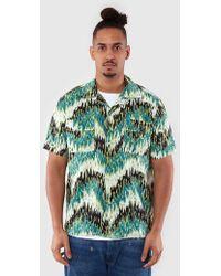 Levi's - Levi's Vintage Spread Collar Green Haze Shirt 29158-0000 - Lyst