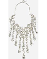 Ashley Stewart - Plus Size Oversized Jewel Statement Necklace - Lyst
