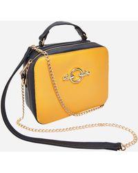 Ashley Stewart - Color Block Shoulder Bag - Lyst